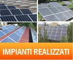 alcuni esempi di impianti ad energia rinnovabile realizzati