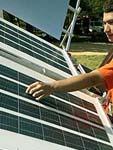 installatore di pannelli solari fotovoltaici