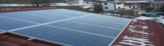 Impianto fotovoltaico a Albino - Bergamo - Lombardia - <br>Potenza: 3kW - Tipo Impianto: Semi-Integrato
