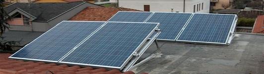 Impianto fotovoltaico a Monza - Monza e Brianza - Lombardia - <br>Potenza: 2,3kW - Tipo Impianto: Semi-Integrato