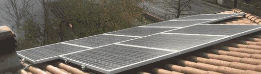 Impianto fotovoltaico a Pegognaga - Mantova - Lombardia - <br>Potenza: 4,5kW - Tipo Impianto: Semi-Integrato