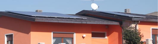 Impianto fotovoltaico a Chignolo D'Isola - Bergamo - Lombardia - <br>Potenza: 4,2kW - Tipo Impianto: Semi-Integrato