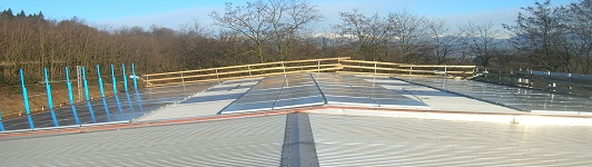 Impianto fotovoltaico a Dormelletto - Novara - Piemonte - <br>Potenza: 30,36kW - Tipo Impianto: Semi-Integrato
