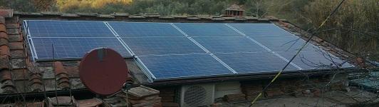 Impianto fotovoltaico a Bagno a Ripoli - Firenze - Toscana - <br>Potenza: 2,4kW - Tipo Impianto: Integrato