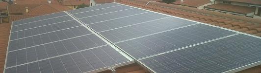 Impianto fotovoltaico a Montopoli Val D'arno - Pisa - Toscana - <br>Potenza: 3kW - Tipo Impianto: Semi-Integrato