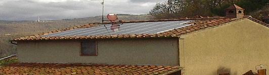 Luogo: Sasso Pisano - Pisa - Toscana - <br>Potenza: 5kW - Tipo Impianto: Integrato