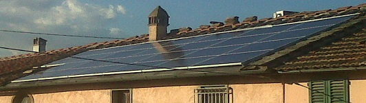 Impianto fotovoltaico ad Agliana Pistoia - Toscana - <br>Potenza: 6kW - Tipo Impianto: Integrato
