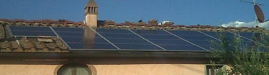 Impianto fotovoltaico a Prato - Prato - Toscana - <br>Potenza: 6kW - Tipo Impianto: Integrato