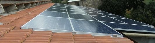 Impianto fotovoltaico a Castelnuovo Val Cecina - Pisa - Toscana - <br>Potenza: 6kW - Tipo Impianto: Integrato