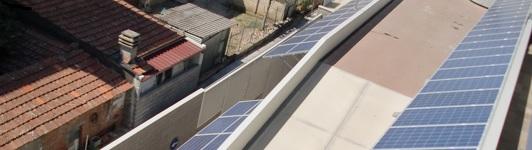 Impianto fotovoltaico ad Arezzo - Arezzo - Toscana - <br>Potenza: 45kW - Tipo Impianto: Tettoia
