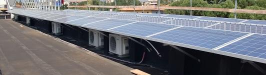 Impianto fotovoltaico ad Arezzo - Arezzo - Toscana - <br>Potenza: 12kW - Tipo Impianto: Tetto Piano