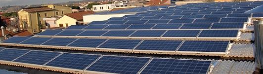 Impianto fotovoltaico a Santa Croce sull'Arno - Pisa - Toscana - <br>Potenza: 45kW - Tipo Impianto: Semi-Integrato