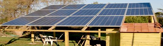 Impianto fotovoltaico a Bagno a Ripoli - Firenze - Toscana - <br>Potenza: 3kW - Tipo Impianto: Pensilina