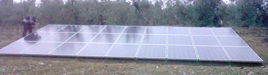 Impianto Fotovoltaico a Firenze - Firenze - Toscana - <br>Potenza: 6kW - Tipo Impianto: A Terra