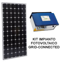 Vendita kit fotovoltaici impianti completi